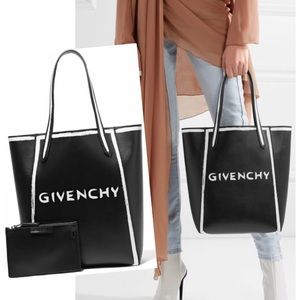 NWT Givenchy Stargate Graffiti Leather Tote